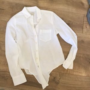 Brand new without tags J. Crew tie front blouse